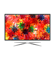 LED Television vector image vector image