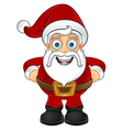 Santa Claus Hands On Hips vector image vector image