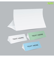 reminder cards vector image vector image