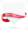 Realistic sale tag vector image vector image