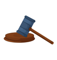 gavel vector image