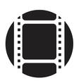Old filmstrip vector image