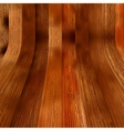 Wooden planks interior with Illuminated  EPS8 vector image vector image