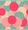 seamless pattern of colorful confetti vector image