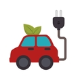 energy car ecology icon vector image
