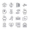 real estate icon suitable for info graphics vector image