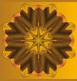 mandala round ornament patternelement for design vector image