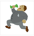 Big money vector image
