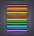 progress bar for games vector image