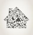 House a bird vector image