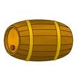 Wine Wooden Barrel vector image vector image