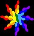 wicker star vector image