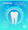 Protection of healthy teeth pictures for vector image