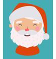 Little Santa vector image