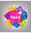 Bright Sale Poster vector image