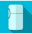Fridge flat icon vector image