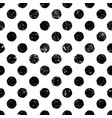 grunge dots seamless pattern abstract vintage vector image