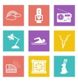 Icons for Web Design set 25 vector image