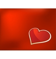 Valentines day card EPS8 vector image vector image