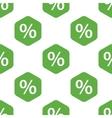 Percent pattern vector image