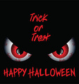 Evil eyes Halloween background vector image vector image