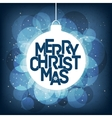 Merry Christmas card design Perfect as vector image