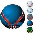 icon sphere vector image vector image