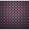 Classical dark pink ditsy floral seamless vector image