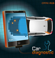 Car Diagnostic Gadget vector image