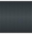Silver metallic grid background vector image