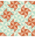 Seamless geometric pattern with origami elements vector image vector image