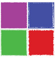 color frame set vector image