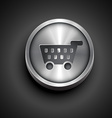 shoping cart icon vector image