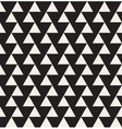 Seamless Black and White Geometric Triangle vector image