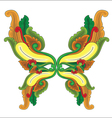 Butterfly Ornament vector image vector image