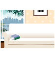 Apartment Cityscape View vector image