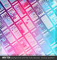 Modern high tech background design with a lot of vector image