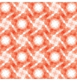 burgundy red geometric fractal seamless pattern vector image