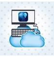 application service design vector image