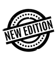 New Edition rubber stamp vector image