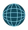 earth planet school icon vector image