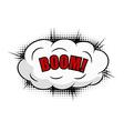 Boom comics icon vector image vector image