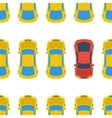 Seamless pattern with cars - top view vector image vector image