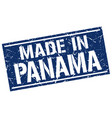 made in panama stamp vector image