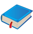 One book vector image