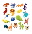 Southern Animals Set vector image