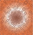 seamless retro background from squares vector image vector image