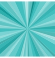 Blue rays background for your bright beams design vector image