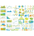 NEW STYLE WEB ELEMENTS INFOGRAPHIC DEMOGRAPHIC TOY vector image vector image