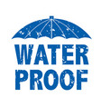water drop text vector image